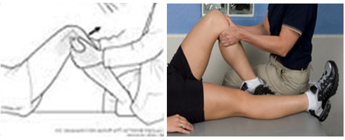 Posterior Sag Test for Posterior Cruciate Ligament