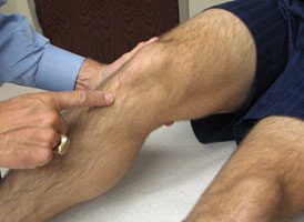 Palpation of the Knee